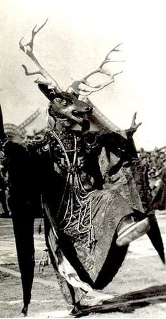 Cham Dancer, Tibet