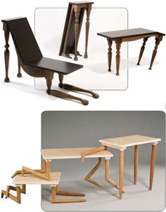 wild tables - so funny #furniture #funny #wood