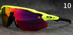 Contiene funda dura, una funda blanda, lente de espejo roja, lente transparente, lente amarillo, lente azul y lente polarizado negro. Incluye también una gamuza para limpiar los lentes. Oakley Radar Ev, Oakley Sunglasses, Yellow, Blue Nails, Black, Red Mirror