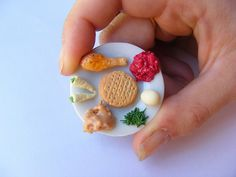 how cute is this mini seder plate!
