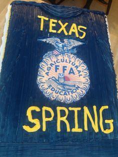 FFA Jacket cake.