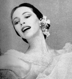 Maria Tallchief was not only the first American prima ballerina, but was the first famous Native American ballet dancer. Dancing for Balanchine, the Ballets Russe, Agnes DeMille, New York City Ballet, eventually marrying Balanchine. Considered not only technically perfect but able to bring a passion and fire to roles that made her a true international star. She died age 88 in April 2013.