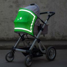 KINDERWAGENÜBERZUG NEONON GAVIS© -- Super flexibler und leichter Kinderwagenüberzug