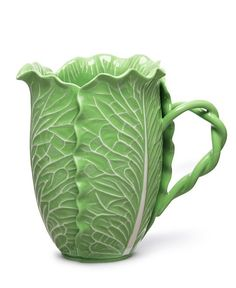 Dodie Thayer for Tory Burch  Lettuce Ware Pitcher