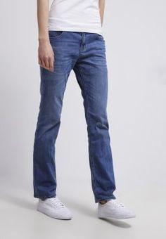 s.Oliver - SMART HIPSTER  - Straight leg jeans - middle blue denim - 1400 punten