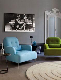 Galleria foto - Dipingere il soggiorno di grigio Foto 2