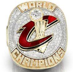 Cleveland Cavaliers 2016 Basketball Championship Ring MVP LeBron James