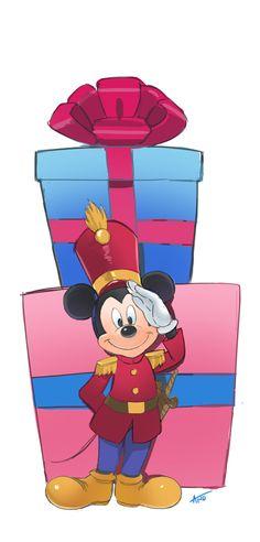 mickey mouse y Walt Disney, Disney Magic, Disney Mickey, Retro Disney, Cute Disney, Mickey Mouse And Friends, Mickey Minnie Mouse, Disney Merry Christmas, Disney Holidays