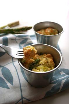 easy asparagus souffle