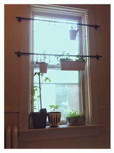 Window garden with ikea stuff