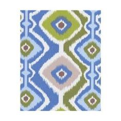 Orien IKMSKY3 Ikat Mesa 100 Percent Polyester Fabric, 54 inch x 3 Yards