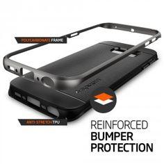 2.Galaxy S6 Edge Case, Spigen [CURVED BUMPER] Neo Hybrid