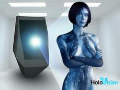 """HoloVision could pave the way to such a future, where this Kickstarter project claims to deliver a free-floating, life-sized image that will hover eight feet from its projector. Bear in mind that the Holovision effort, despite being life-sized, would not be able to interact with you or another person since all images projected cannot turn """"physical"""" so to speak, leaving such imaginations to the fanciful world of Star Trek and its Holodeck."""