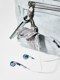 Understated Leather x Free People Earbud Holder Keychain at Free People Clothing Boutique