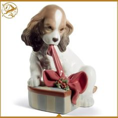 This Lladro Can't Wait! (Christmas) is made from finest Spanish porcelain with exquisite colouring it is firm favourite for the Kensington Bespoke Lladro team. Find it here> https://www.kensington-bespoke.uk/lladro-cant-wait-christmas?search=CHRISTMAS&description=true #Lladro #Collectables #ChristmasGift
