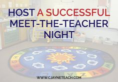 Meet-the-Teacher-Night-tip for setting email boundaries,  her policy on homework (it stays at home), and newsletter expectations