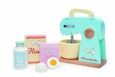 Le Toy Van Le Toy Van Küchenmaschine mit Zubehör Mehrfarbig, Mehrfarbig