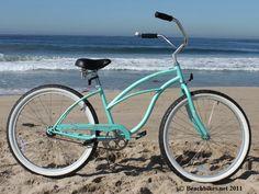 Firmstrong Urban Lady Single Speed, Mint Green - Womens 26 Beach Cruiser Bike $180