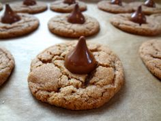 Cookie Butter Nutella Blossoms: The Briarwood Baker #biscoff #cookies.