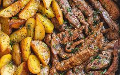 Recipe: Garlic Butter Steak and Potatoes Skillet – Whoopie Pi