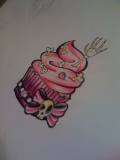 Cute Cupcake ~Lillybee Ink