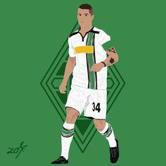 Granit Xhaka - Borussia mönchengladbach