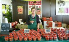 Pour le plus grand plaisir des amateurs, les fraises Maubourguet sont de nouveau présentes sur le Marché des Producteurs de Pays du Salon de l'Agriculture.