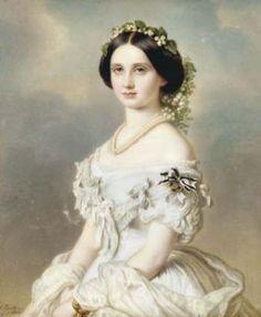 Luise Prinzessin von Preussen  by J. Spelter, 1857