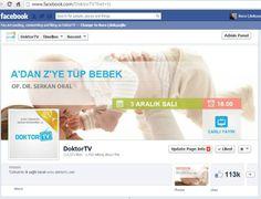 DoktorTV Facebook Sayfası Yönetimi
