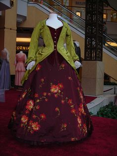 Gown worn by Minnie Driver in the 2004 adaptation of 'The Phantom of the Opera.' Dress designed by Alexandra Byrne.