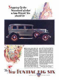 1929 Pontiac, 4-door Sedan