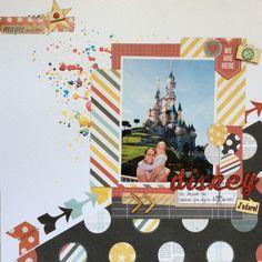 Dreaming Disney layout - Maria Delicata - Los Papeles de Mama