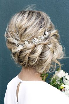 Ideas For Wedding Hairstyle Inspiration ❤ See more: http://www.weddingforward.com/wedding-hairstyle-inspiration/ #weddingforward #bride #bridal #wedding