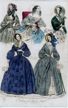 1840. Fashions for October