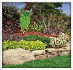 Backyard Hill Landscaping Idea
