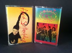 B-52's / FRED SCHNEIDER - cosmic thing 2 CASSETTES 80's