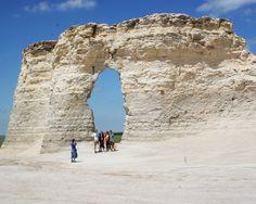 Monument Rocks - Western KS