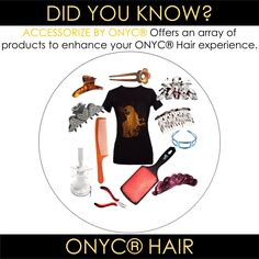 #ONYCHair has the #hair Accessories you need!  FROM the Ultimate Detangler Brush™ to tame those #KinkyCurls TO the Ultimate Diffuser™ to enhance those #Curls, and everything in between!  Shop US Now>>> ONYCHair.com Shop UK Now>>> ONYCHair.uk
