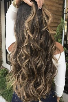 45 Latest Hottest Haircuts and Colors for Long Hair; Trendy hairstyles and colors Women haircuts. Long Straight Layered Hair, Long Hair Cuts, Straight Bangs, Hot Haircuts, Latest Haircuts, Haircut And Color, Ombre Hair Color, Brunette Hair, Brunette Fringe