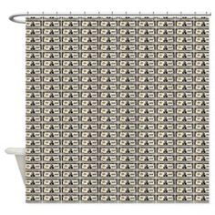 100,000 dollar notes Shower Curtain