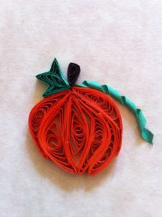 Rachielle's Quilling: How to Quill a Pumpkin