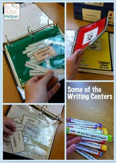 Writing Center: For an autism classroom. Also go to Teachers pay Teachers to see full unit and buy it!