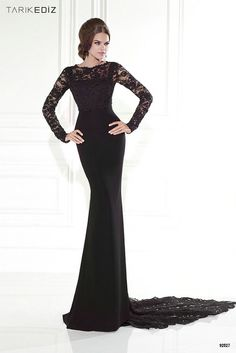 Dresses, Formal, Prom Dresses, Evening Wear: Long Sleeve Lace ...