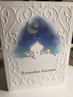 A personal favorite from my Etsy shop https://www.etsy.com/listing/527578371/dozen-handstamped-ramadan-kareem-or-eid