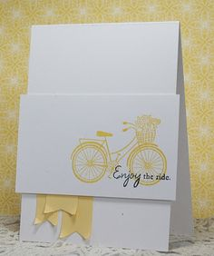 Hey There .... rosigrl!: CCC #47... little yellow bike