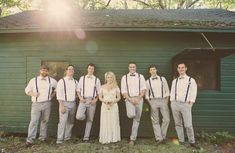 I like the idea of photos with the bride and the boys from the bridal party and then the girls with the groom... I think it's funny.