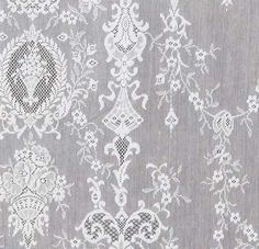 Fine detail of one of our popular Victorian Lace Panel designs - Lucynda.
