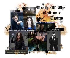 """""""Wrath Of The Collins Twins"""" by fishystarz ❤ liked on Polyvore featuring art"""