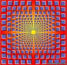 Illusion of motion by Mandala, Optical Illusions, Chakra, Health Tips, Health Fitness, Mindfulness, Colour, Search, Paisajes