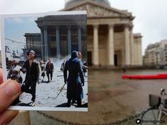 This Guy Went Out And Found Real Life Locations From Assassin's Creed Unity! Click for more!